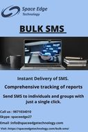 One of the Best Bulk SMS service provider in India.
