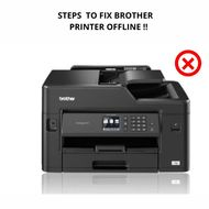 Steps To Fix Brother Printer Oflline Issues